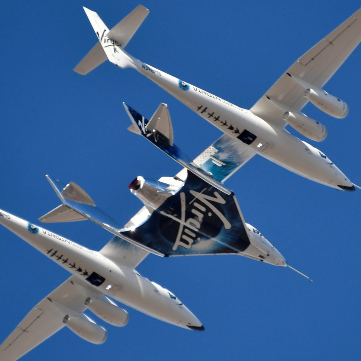 Liftoff? US allows Virgin Galactic to take paying passengers into space |  Richard Branson | The Guardian