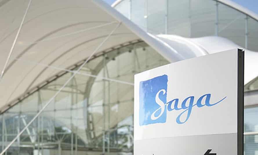 Saga head office in Folkestone, Kent.