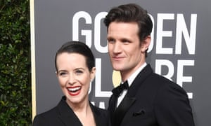 Claire Foy and Matt Smith.