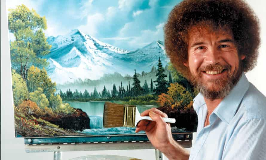 Do go chasing waterfalls … The Joy of Painting with Bob Ross.