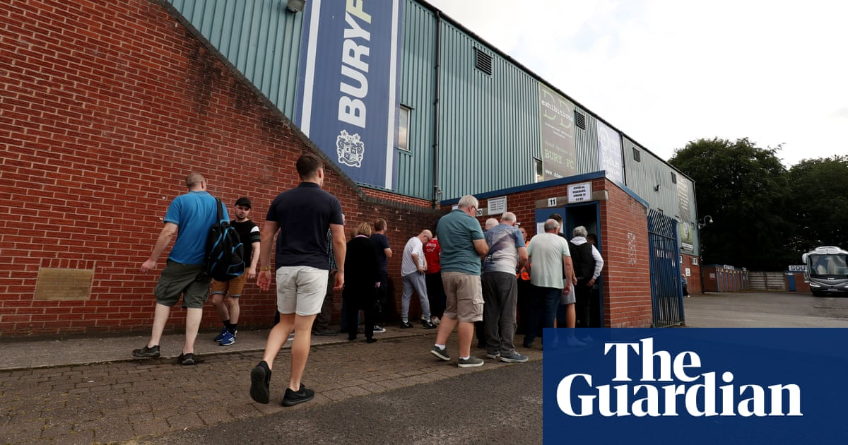 Bury are an extension of family, losing them would devastate a community | James Bentley
