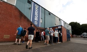 Bury was due to start the season with a 12-point deduction.