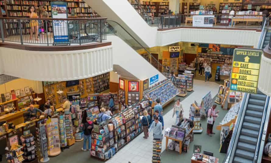 A Barnes & Noble store in Los Angeles.