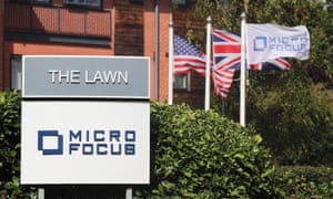 The offices of Micro Focus.