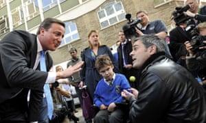 Jonathan Bartley David Cameron