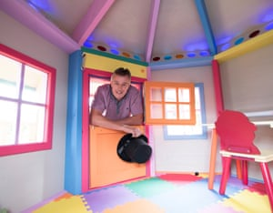 The Big Top Den – owned by Steve Burrows