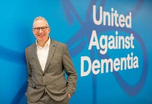 Jeremy Hughes, chief executive of the Alzheimer's Society