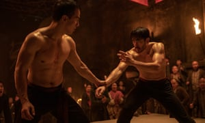Warrior, the new series on HBO starring Andrew Koji, right.