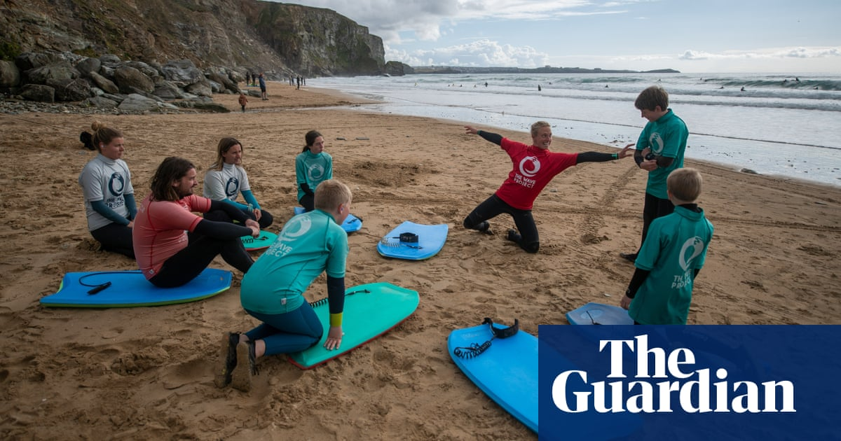 Cornwall 'beach school' aims to offer hope for vulnerable children