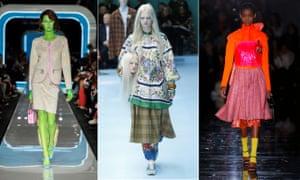 62c6c4dd8c3 Milan Fashion Week autumn winter 2018  10 key shows – in pictures ...