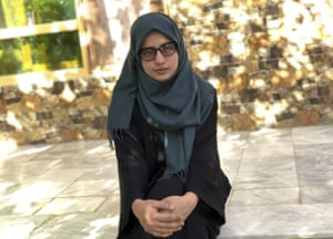 Salgy, 18, received the highest the highest score in the entire country on Afghanistan's university entrance exams this year