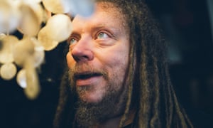 Silicon Valley visionary Jaron Lanier photographed at his home in Berkeley, California