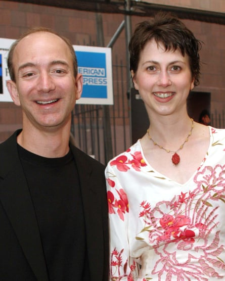 MacKenzie Bezos and husband Jeff jointly announced Wednesday that they plan to divorce.