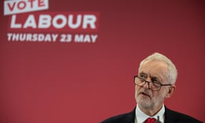Jeremy Corbyn launches Labour's European election campaign
