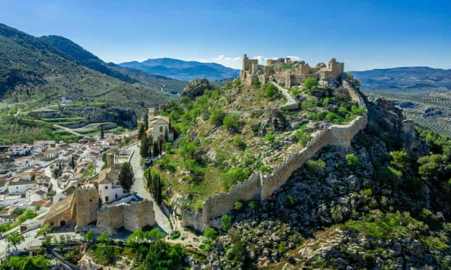 Moclín village near Granada,
