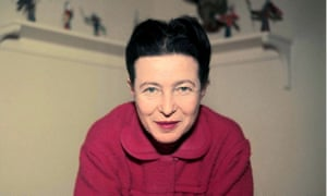 Leduc's admirer and mentor … Simone de Beauvoir.