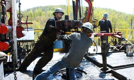 Chesapeake Energy helped lead the fracking boom in states across America.