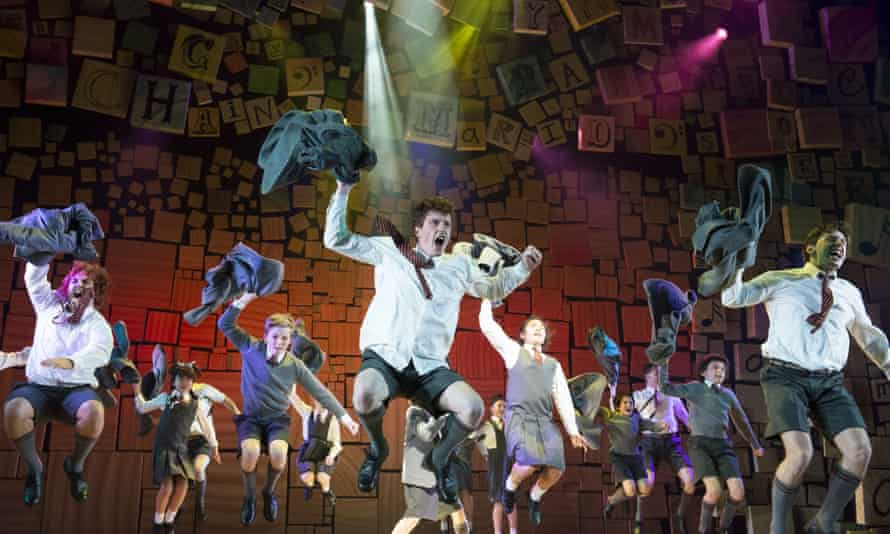 Revolting: the Sydney cast of Matilda The Musical