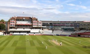 Day 4 of the Bob Willis Trohy at the Kia Oval, normally catered by Levy UK, last week.