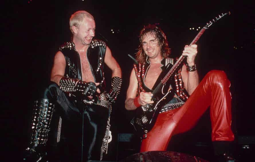 'We didn't sing about daffodils and roses' … Judas Priest.