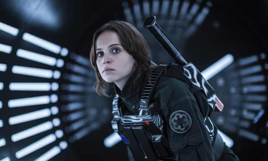 Felicity Jones as Rogue One's Jyn Erso.