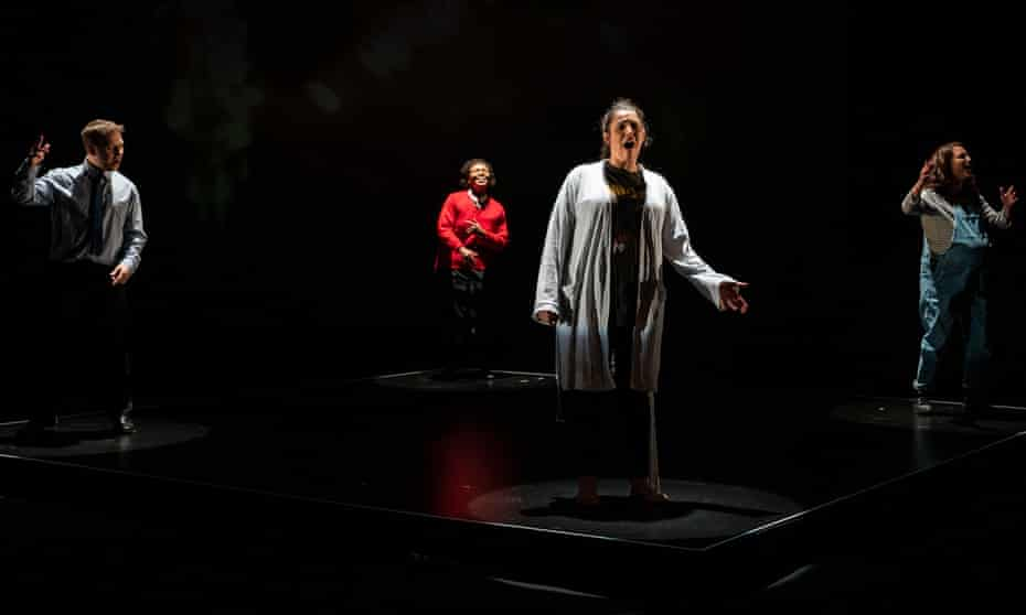 Thomas Coombes, Anne Odeke, Mona Goodwin and Gemma Salter in Misifts.