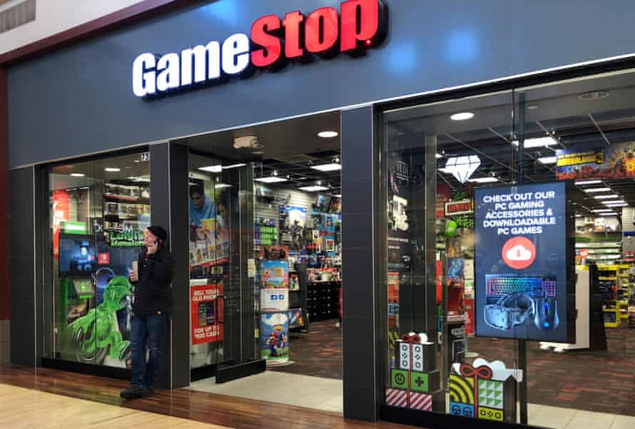 A GameStop store in Gurnee, Illinois, US, December 2019