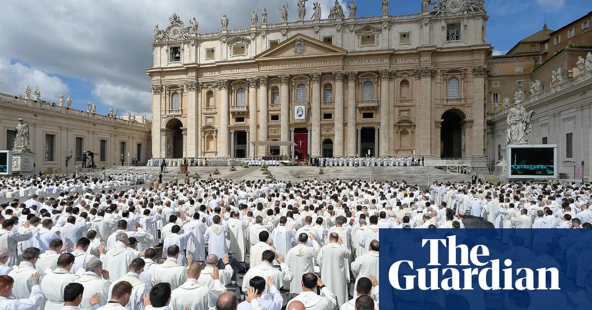 Four in five Vatican priests are gay, book claims