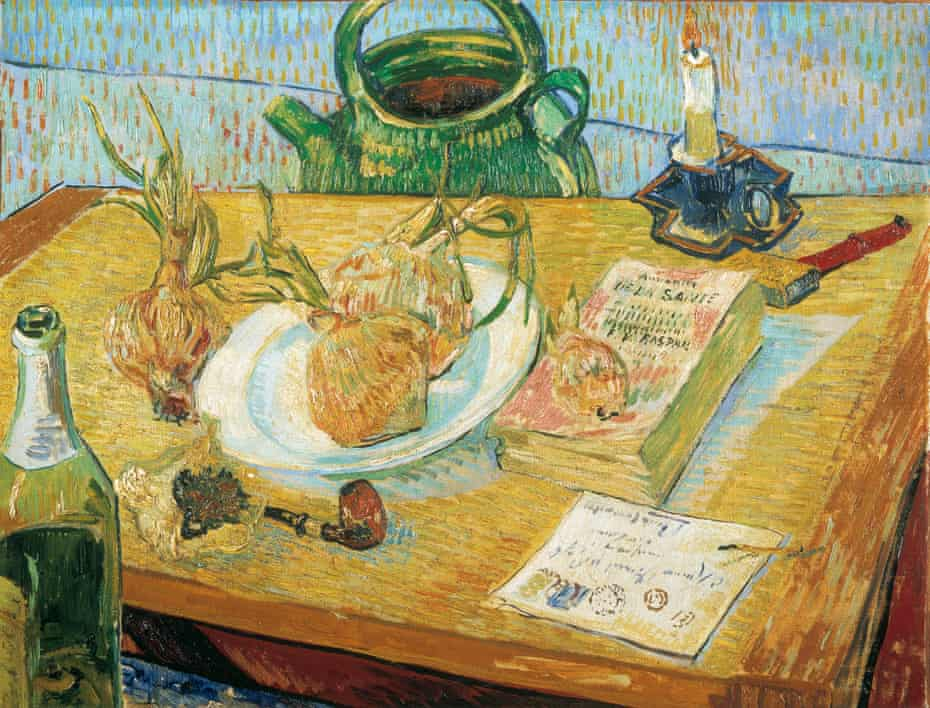 Powerful art … Van Gogh's Still life with a plate of onions, 1889.