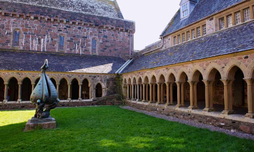 Cloisters of Iona Abbey