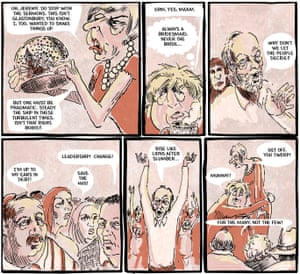 'Welcome to Britsville © Louis Netter and Olly Gruner' from Jeremy Corbyn comic
