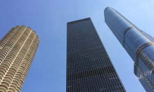 Chicago towersTall towers in Chicago from different decades