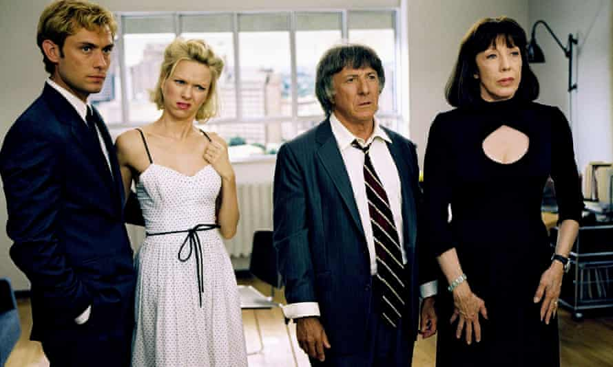 I Heart Huckabees (2004) with Jude Law, Naomi Watts, Dustin Hoffman and Lily Tomlin.