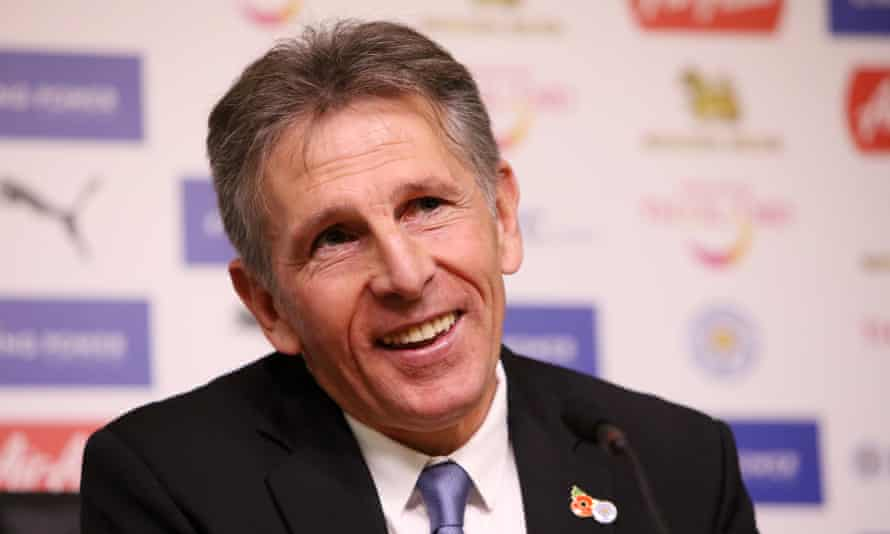 Leicester City's new manager Claude Puel