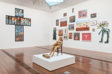 Installation view of Colony : Frontier Wars at the National Gallery of Victoria