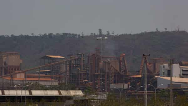 Mineração Onça Puma, a company owned by the mining company Vale, extracts nickel in the hills near the River Cateté in the Amazon in Brazil,