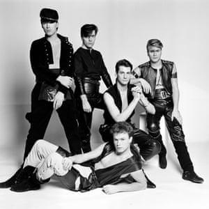 Spandau Ballet in 1981: (clockwise from left) Martin Kemp, John Keeble, Tony Hadley, Steve Norman and Gary Kemp.
