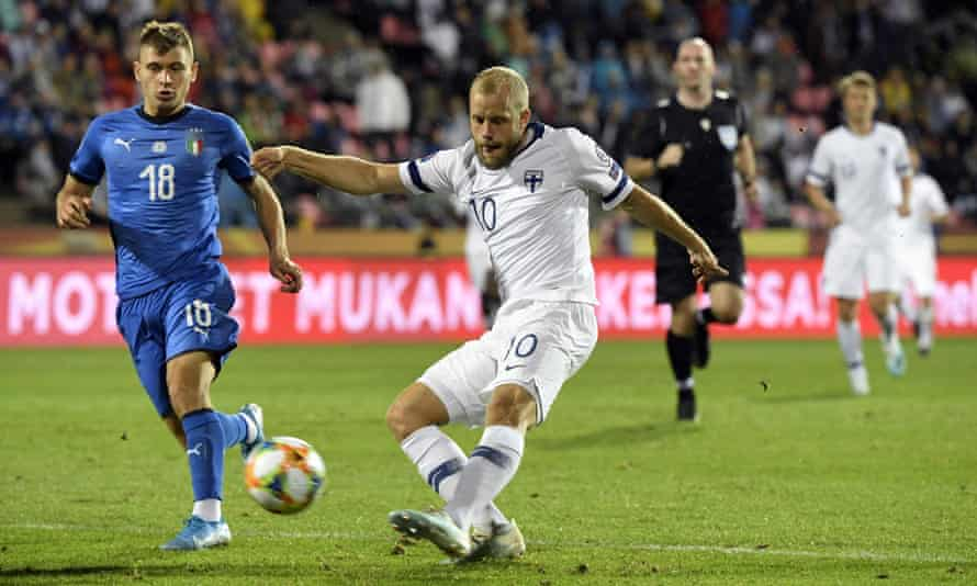 Finland's Teemo Pukki has scored five times in his last six matches.