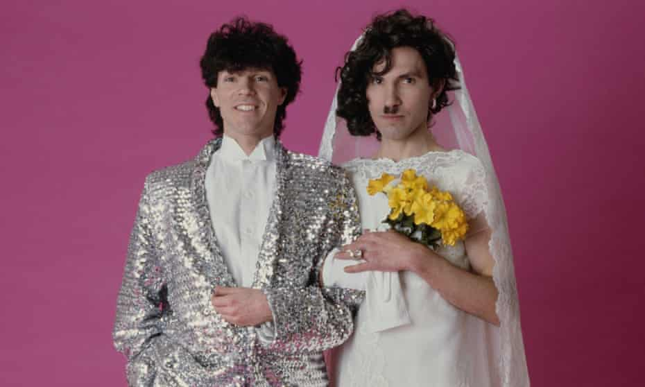 Russell (left) and Ron Mael of Sparks.