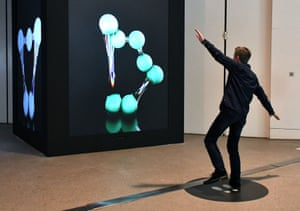 Universal Everything's Future You allows visitors to interact with a giant AI version of themselves.