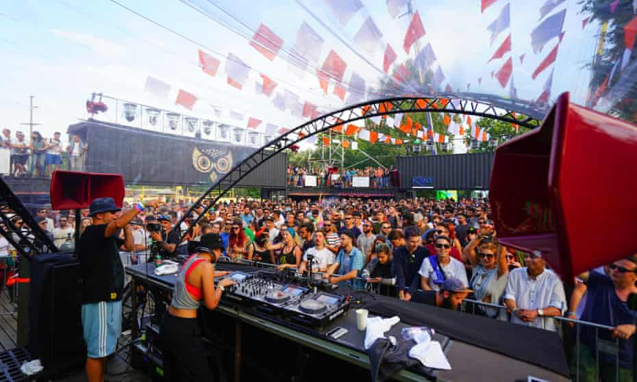 Electric Castle Festival, near Cluj, Romania.