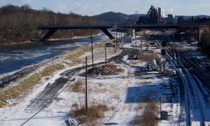 The steel plant in Bethlehem, Pennsylvania.