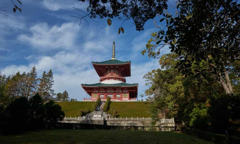 Hall of fame ... the Naritasan Shinshoji Buddhist temple complex.