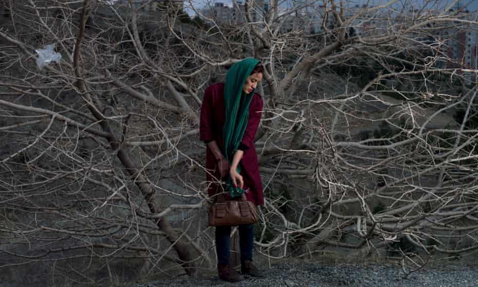 A detail from Newsha Tavakolian's Portrait of Somayyeh, 2015.