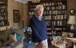 Roger Scruton at home