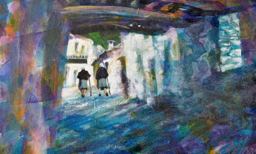 Village scene in Capileira, by Cris Hoare