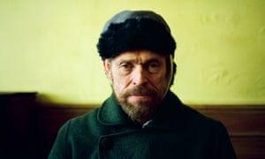 Willem Dafoe as Vincent Van Gogh in Julian Schnabel's AT ETERNITY'S GATE