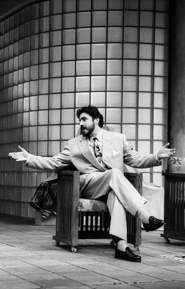 Alfred Molina in Speed-the-Plow in 1989.