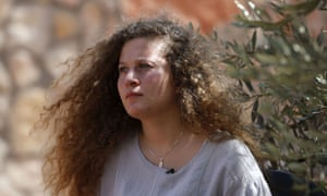 Ahed Tamimi: 'The experience of being arrested was really hard. This experience added value to my life, maybe it made me more mature. More conscious.'