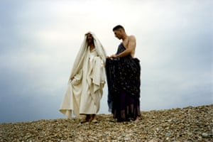 Christ and Joseph, played by Roger Cook and Philip MacDonald.